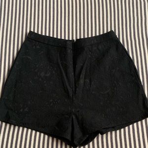 Black shorts, Urban Outfitters